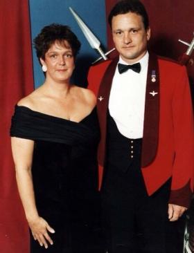 Mr & Mrs Danny Brooks, date unknown.