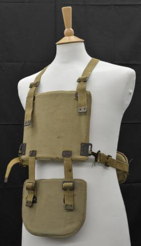 1940s Medical Research Council (MRC) Body Armour from the Airborne Assault Museum Collection, Duxford.