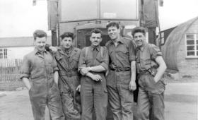 MT Section PCAU Abingdon 1958