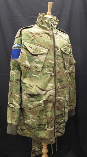 MTP Parachutists Smock, badged for 2 PARA, from the Airborne Assault Museum Collection, Duxford, 2012.
