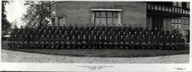 Group Photograph of 127 Parachute Field Ambulance, October 1945