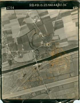 Aerial photo for Operation Overlord.