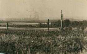 Anti-glider posts in Caen.