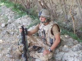 L/Cpl Kyle Marshall on Op Herrick VIII