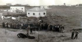 'Suspects' at Nathanya, Palestine, c1946.