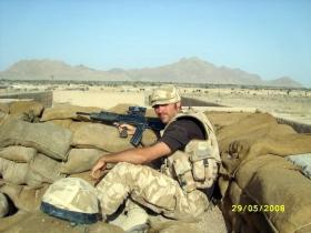 Craftsman Neary, Nowzad, Afghanistan, Herrick VIII. 2008.