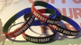Support Our Paras wrist bands
