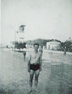 Nicol Blount at Haifa Casino 1947