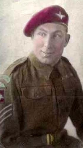 Sgt Nicks, c1947.