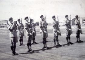2 PARA Guard of Honour Nicosia c1951