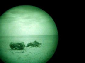 Night Patrol, Op Telic III, Iraq, 2005.