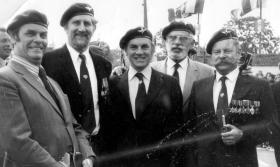22 Ind Para Coy reunion Normandy, 1974.