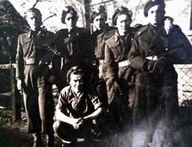 Members of the 1st Polish Independent Parachute Brigade, date/location  unknown.