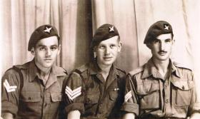 Three NCOs of 7th (LI) Para Bn Far East c1946