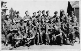 1 Platoon E Coy No 1 Parachute Regt ITC, Albany Barracks Parkhurst  29 July 1945