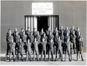 Para training course at No1 Parachute Training School, RAF Brize Norton, 1988.