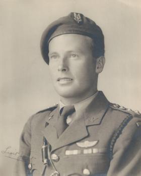 Captain Norman Poole, 1945.