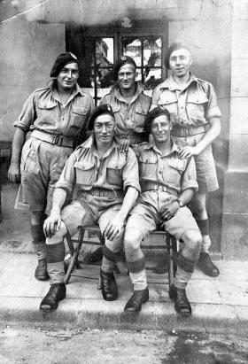 Members of 1st Para Bn, North Africa, date unknown.