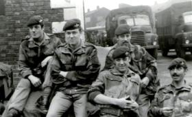 Members of 2 PARA, Northern Ireland, 1970.