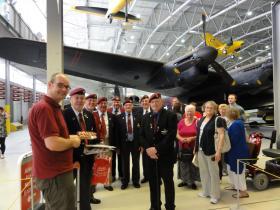Nottingham Branch, PRA, visit Airborne Assault, 2011