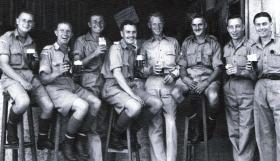 Men of 156 Battalion in Egypt, c1943.