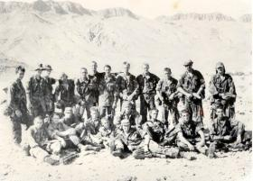 9 Platoon, C Company, 1 PARA, Oman, 1989.