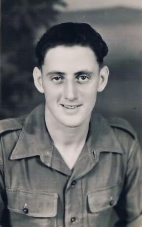Pte Johnstone of  7th (LI) Para Bn c 1946