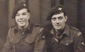 Two soldiers from 7th (LI) Para Bn c 1945/46