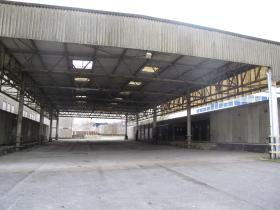 One of the Stores Areas, Montgomery Lines, 2011.
