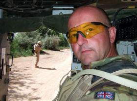 Sgt Puckey on Operation Herrick XII, 2010.