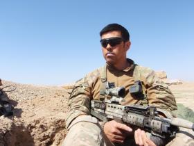 C/Sgt Mark Magreehan 2 PARA Small Strike Team Op Herrick XIII Afghanistan 2011