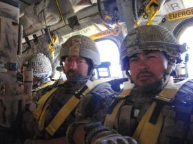 Members of 2 PARA Small Strike Team Op Herrick XIII Afghanistan 2011