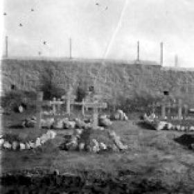 Graves of Soldiers killed in action on Operation Manna, Athens,  January 1945.