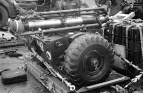 Ordnance 4.2 Inch Mortar, AATDC trials, 1959.
