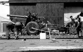 Ordnance Quick Firing 25 Pounder, July 1959.