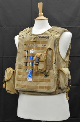 2008 Osprey Body Armour from the Airborne Assault Museum Collection, Duxford.