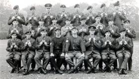 All Arms P Coy 766, 1972.
