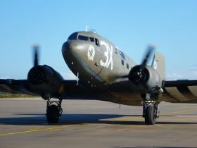 'Drag em Oot' waiting for take off Eindhoven airbase, 22 September 2012.
