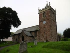 Timberscombe Church, Somerset, 2012.