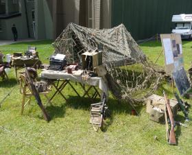 Photos of static display by RUR WWII Living History Group IWM Duxford 17 June 2012