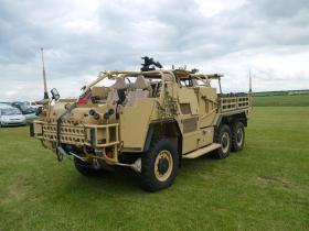 A 1 PARA Coyote on static display at IWM Duxford 17 June 2012