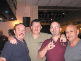 Former members of 2 PARA at Reunion Club Blackpool 2008
