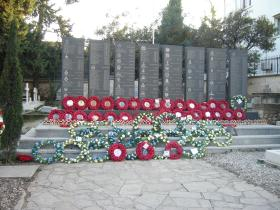Cyprus Memorial Remembrance Sunday, Kyrenia, 2014.