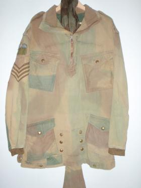 Denison Smock 1st Pattern donated by a 2 PARA Chaplain