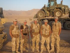 9 Para Sqn RE Search Team, Op Oqab Tsuka, Afghanistan 2008.