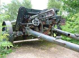 German Anti Tank-Gun, near Nijmegen, Holland, 2009.