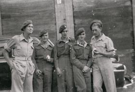 Members of 6th Airborne Divisional Signal Regiment, Palestine c1947-8