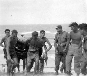 Members of B Coy, 2 PARA in the Middle East, c1959.