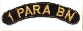 Original shoulder flash South African 1st Parachute Battalion