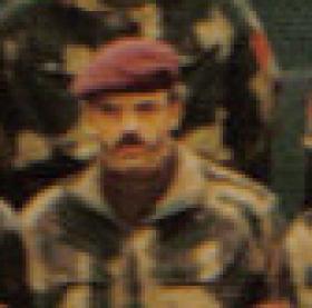 Michael Skerratt at Old Sarum, c 1974.